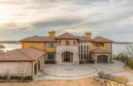 Tuscan Inspired Lakefront Mansion In Skiatook, OK