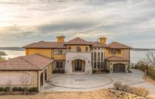 Tuscan Inspired Lakefront Mansion In Skiatook, OK