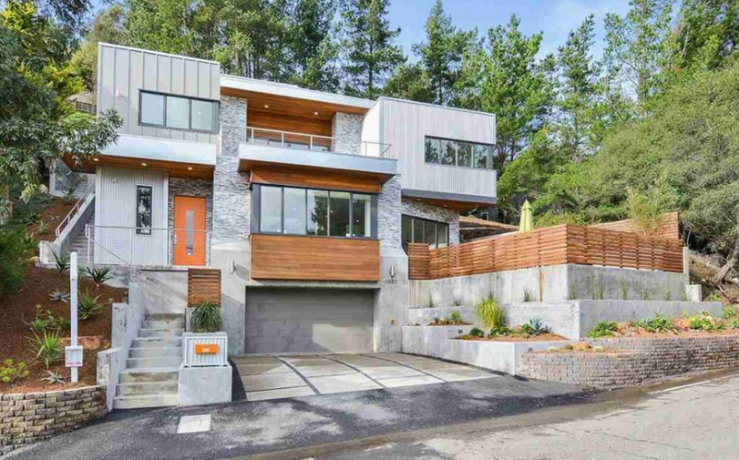$1.7 Million Newly Built Contemporary Home In Berkeley, CA