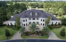 15,000 Square Foot Stucco Mansion In Ocala, FL