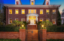12,000 Square Foot Historic Georgian Revival Mansion In Seattle, WA
