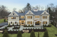 $4.125 Million Newly Built Colonial Shingle Mansion In Cos Cob, CT