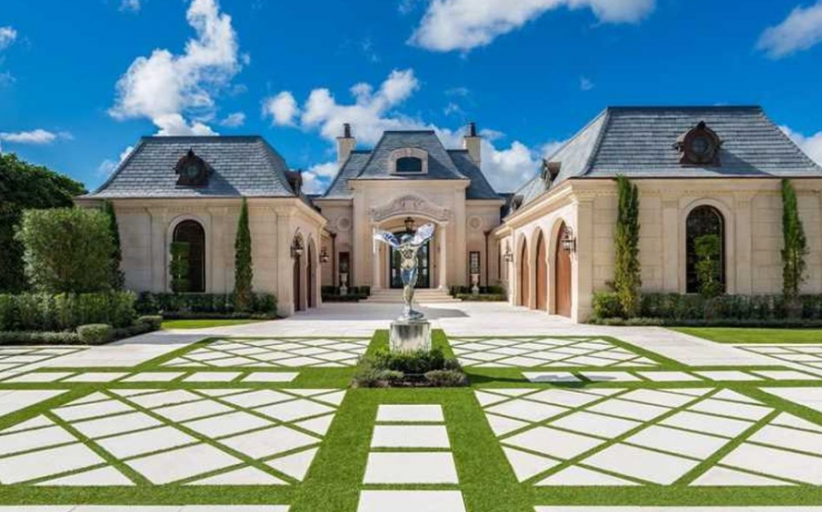 $8.7 Million French Chateau Inspired Waterfront Home In Jupiter, FL