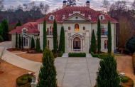 11,000 Square Foot Mediterranean Mansion In Marietta, GA