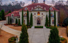 11,000 Square Foot Mediterranean Mansion In Marietta, GA