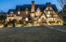 $3.865 Million Tudor Home In Dallas, TX