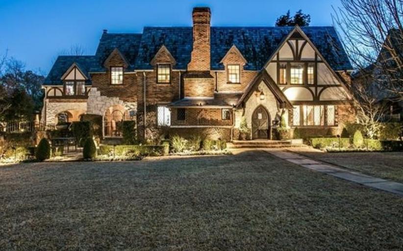 $3.865 Million Tudor Home In Dallas, TX