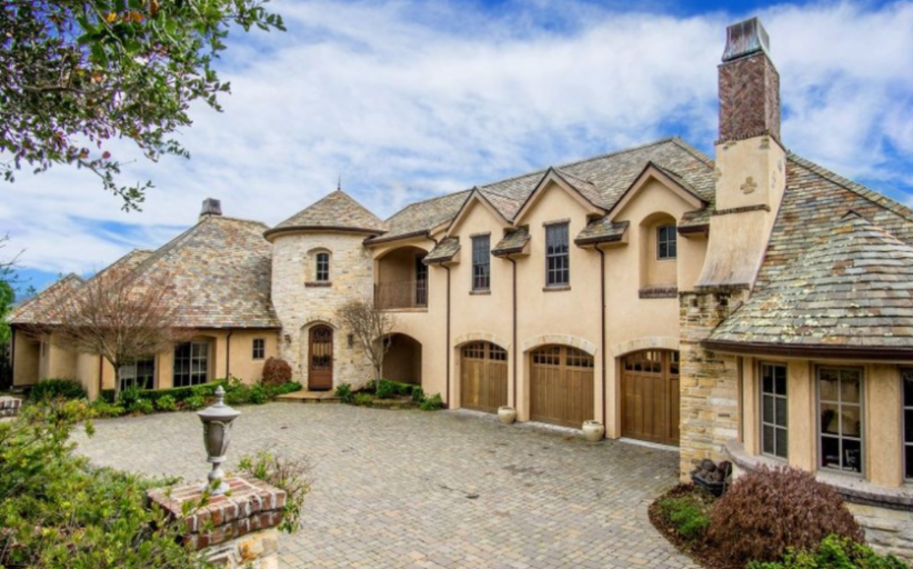 $3.695 Million French Inspired Home In Monterey, CA