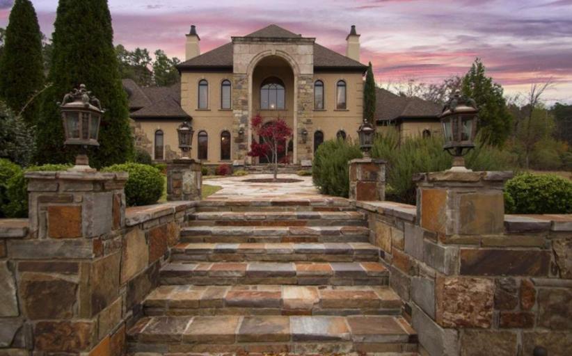 $2.2 Million Brick & Stone Mansion In Little Rock, AR