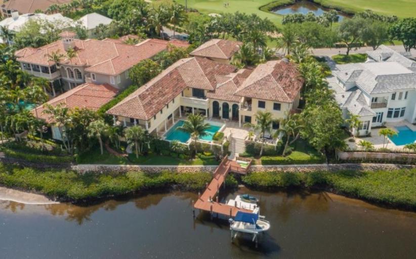 11,000 Square Foot Mediterranean Waterfront Mansion In Jupiter, FL