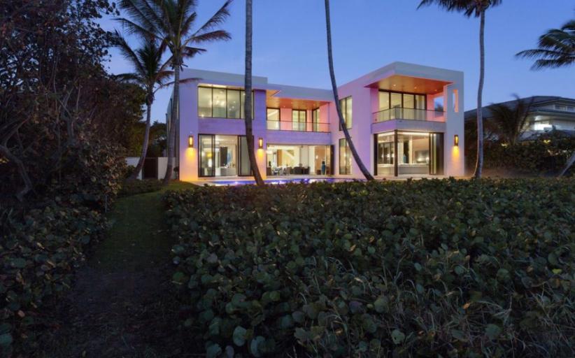 $21.65 Million Newly Built Modern Oceanfront Mansion In Hillsboro Beach, FL