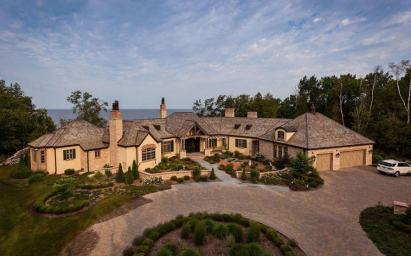 $5 Million Waterfront Home In Egg Harbor, WI