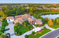 $7.5 Million Lakefront Golf Club Mansion In Palm Beach Gardens, FL