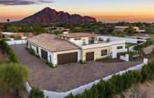 $3.2 Million Newly Built Stone & Stucco Mansion In Paradise Valley, AZ