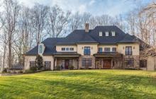 $2.45 Million Brick & Stone Mansion In McLean, VA