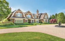 $12.995 Million Shingle Mansion In Water Mill, NY