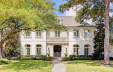 $3.4 Million Stone & Stucco Mansion In Dallas, TX