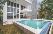 $4.95 Million Newly Built Modern Waterfront Home In Surfside, FL