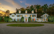 $3.85 Million Colonial Home In Morristown, NJ