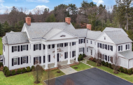 15,000 Square Foot Newly Built Colonial Mansion In Greenwich, CT