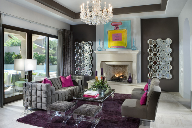 20 Chic & Eclectic Living Rooms