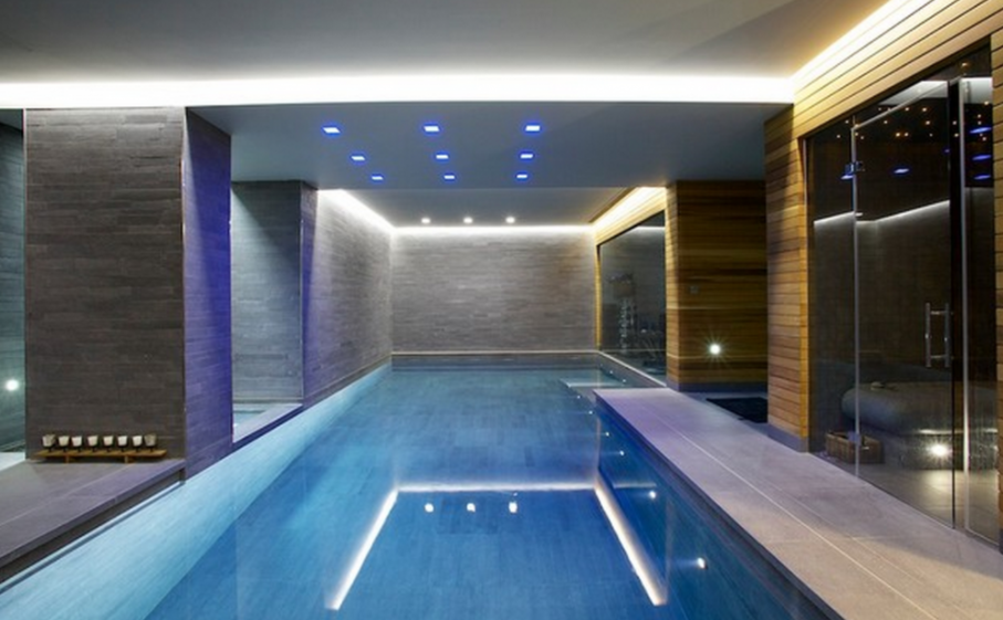 20 Contemporary & Modern Indoor Pools