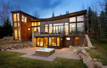 $9.825 Million Newly Built Contemporary Home In Aspen, CO