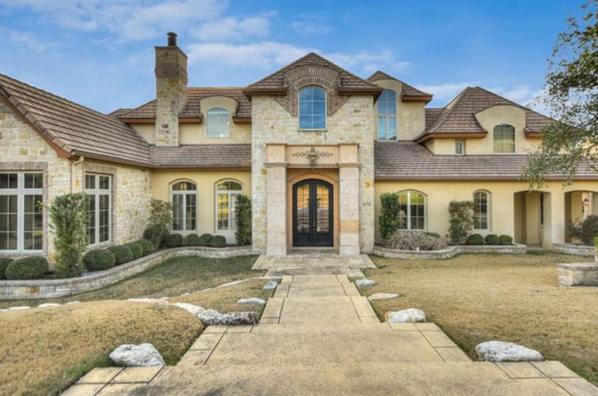 2 million stone stucco home in san antonio tx homes for Texas stone homes