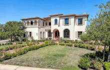 $3.1 Million Italian Inspired Golf Club Home In Pleasanton, CA