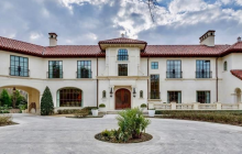 $18 Million Mediterranean Mansion In Dallas, TX