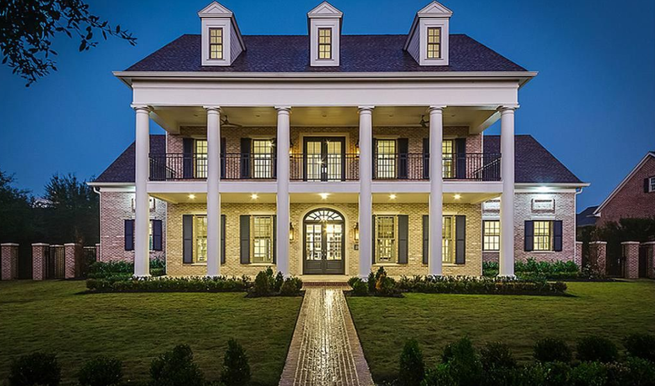 35 Million Newly Built Southern Colonial Mansion In The Woodlands