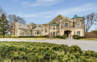 10,000 Square Foot European Inspired Stone Mansion In Kings Point, NY