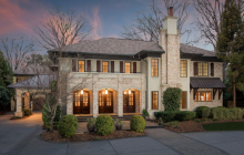 $2.15 Million Brick & Stucco Home In Charlotte, NC
