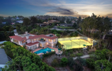 $17.9 Million Mediterranean Home In Los Angeles, CA