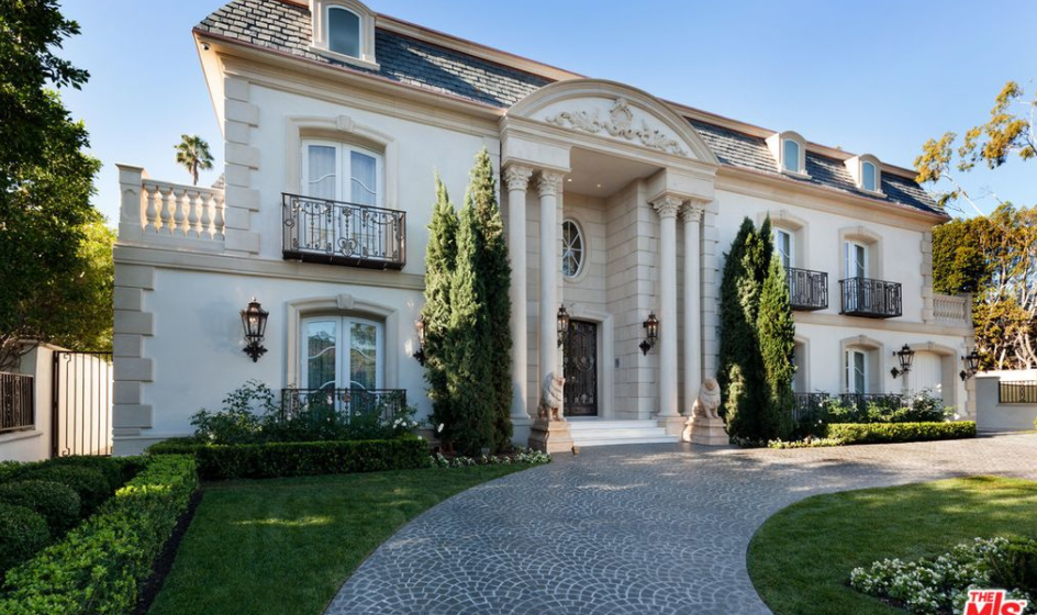 40 Million French Inspired Mansion In Beverly Hills Ca