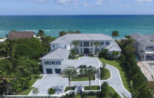 $29.95 Million Newly Built Oceanfront Mansion In Manalapan, FL
