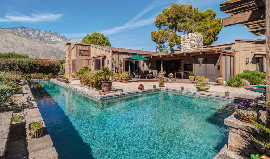 $2.395 Million Ranch Style Home In Palm Springs, CA