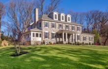 $2.2 Million Colonial Home In Villanova, PA