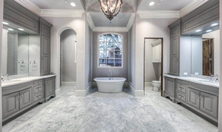 11 000 Square Foot Stone Stucco Mansion In Houston Tx