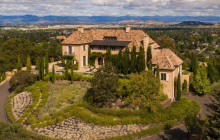 $3.95 Million Mediterranean Hilltop Mansion In Medford, OR