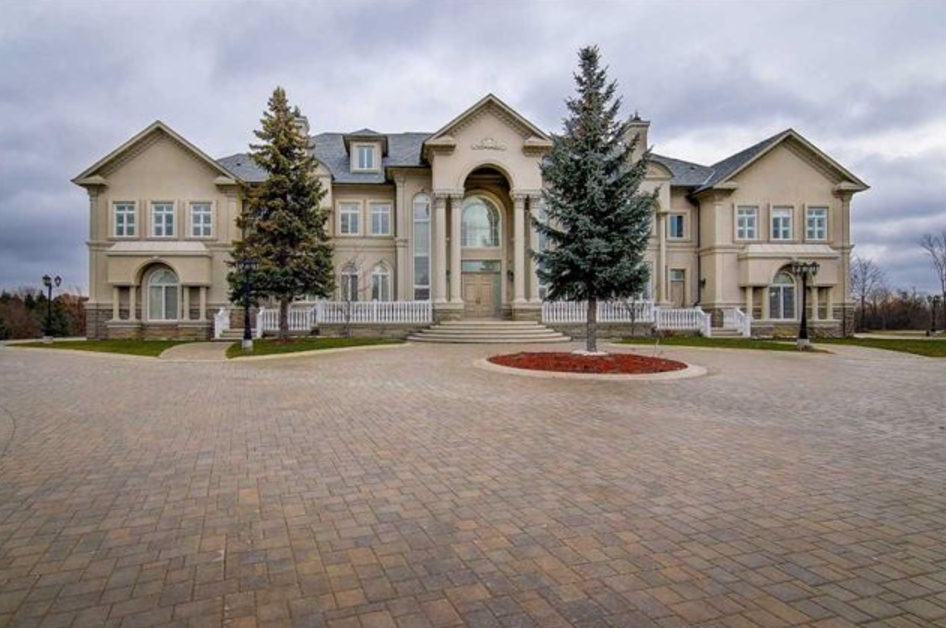 16 000 Square Foot Mansion In Ontario Canada Homes Of