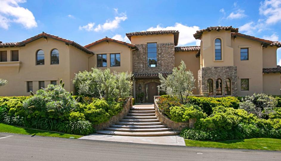 $3.15 Million Stone & Stucco Home In San Diego, CA