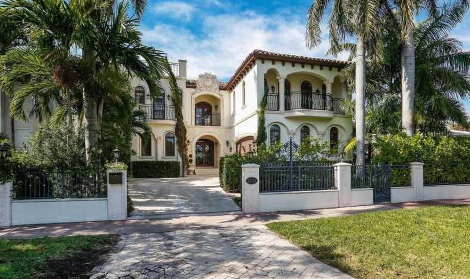 $2.95 Million Mediterranean Home In Miami Beach, FL