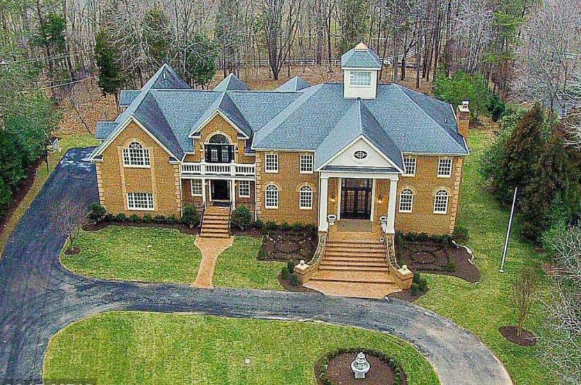 $2.69 Million Brick Mansion In Great Falls, VA
