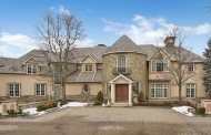 12,000 Square Foot French Inspired Mansion In Cresskill, NJ