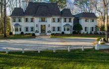 $3.795 Million French Inspired Riverfront Home In Atlanta, GA