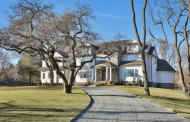 $3.5 Million Newly Built Shingle & Stone Home In Rumson, NJ