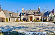 $2.9 Million French Country Home On 30 Acres In Kenosha, WI