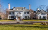 $4.645 Million Colonial Mansion In New Canaan, CT
