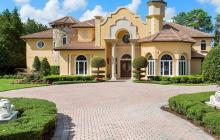 $4.25 Million Lakefront Mansion In Orlando, FL